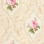 Tudor Rose Wallpaper DE41444 By SK Filson For Dixons Exclusive